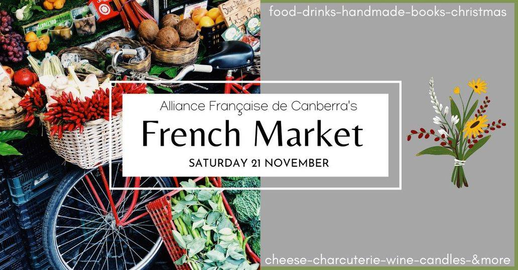 French market in Canberra today
