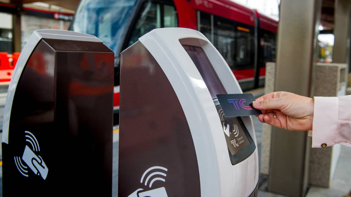 The ACT government wants a new public transport ticket system in operation by 2023. Picture: Elesa Kurtz