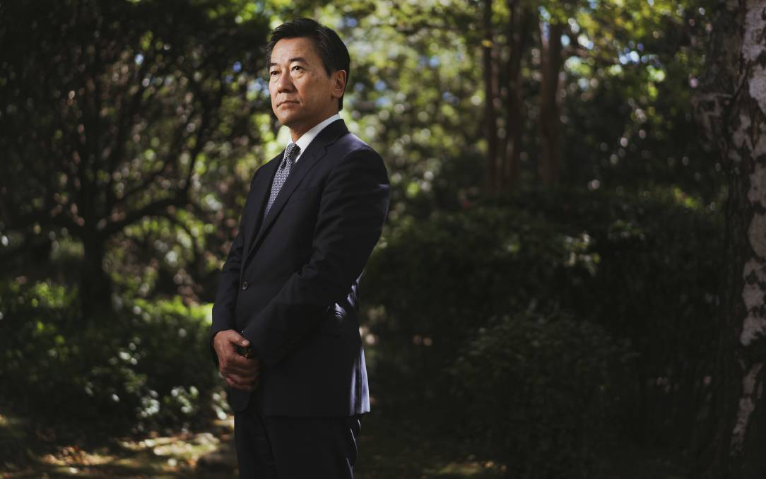 Japan's ambassador to Australia, Shingo Yamagami. Picture: Dion Georgopoulos