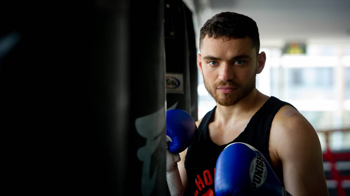 Ben Harvey is one of the major drawcards for the Pandemonium Fight Night card in Canberra this week. Picture: Elesa Kurtz