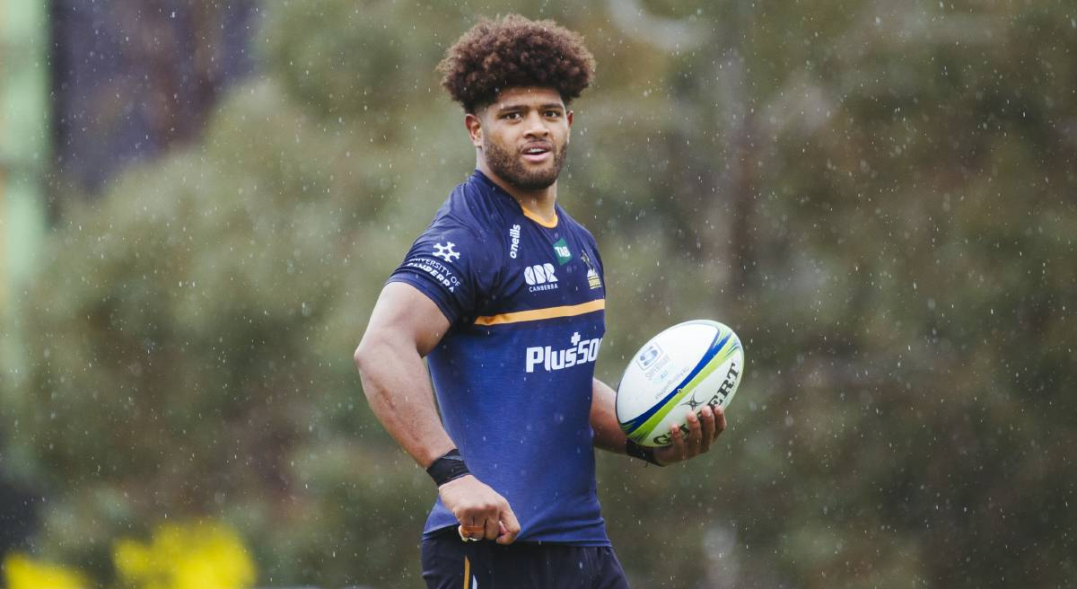 Rob Valetini has signed a two-year extension with the Brumbies. Picture: Dion Georgopoulos