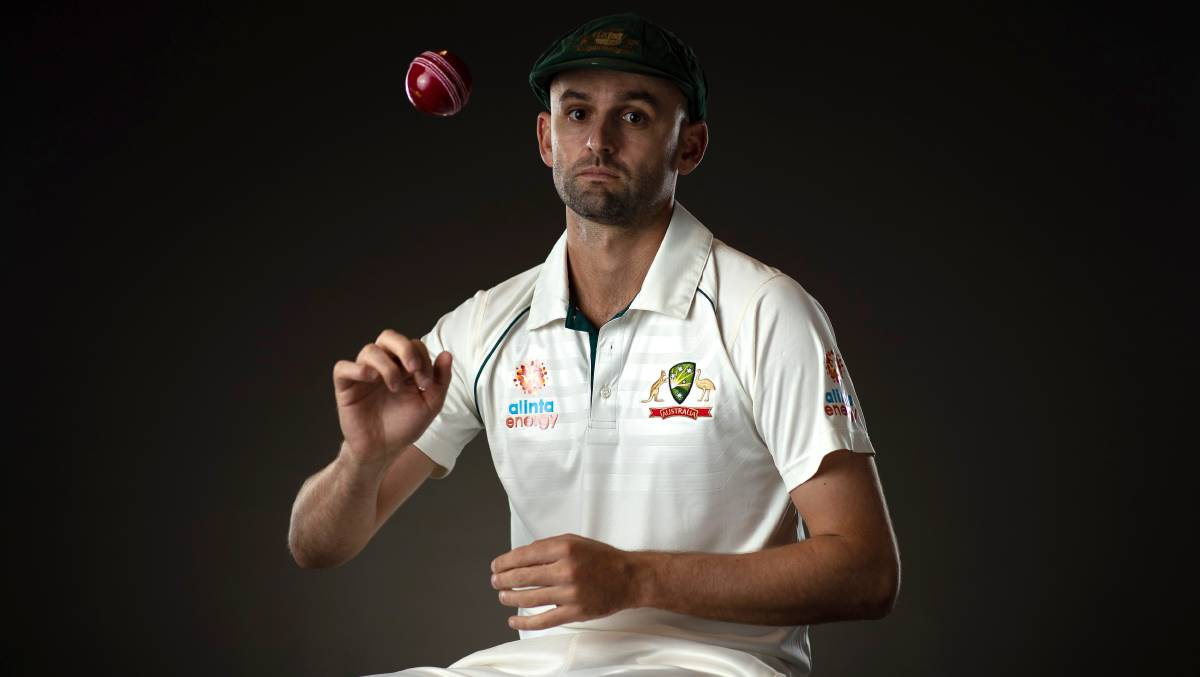 Nathan Lyon will create history in Brisbane this week. Picture: Getty