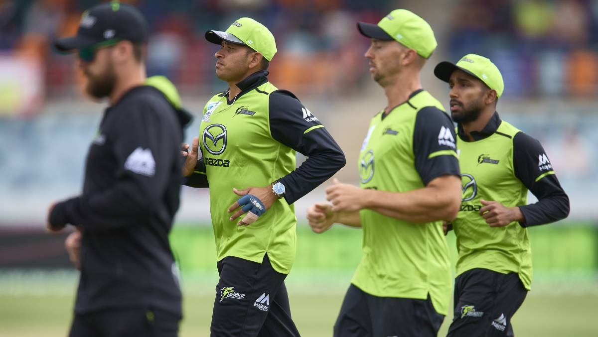 Uncertainty caused by the coronavirus pandemic could force the Sydney Thunder's home games to be moved. Picture: Getty