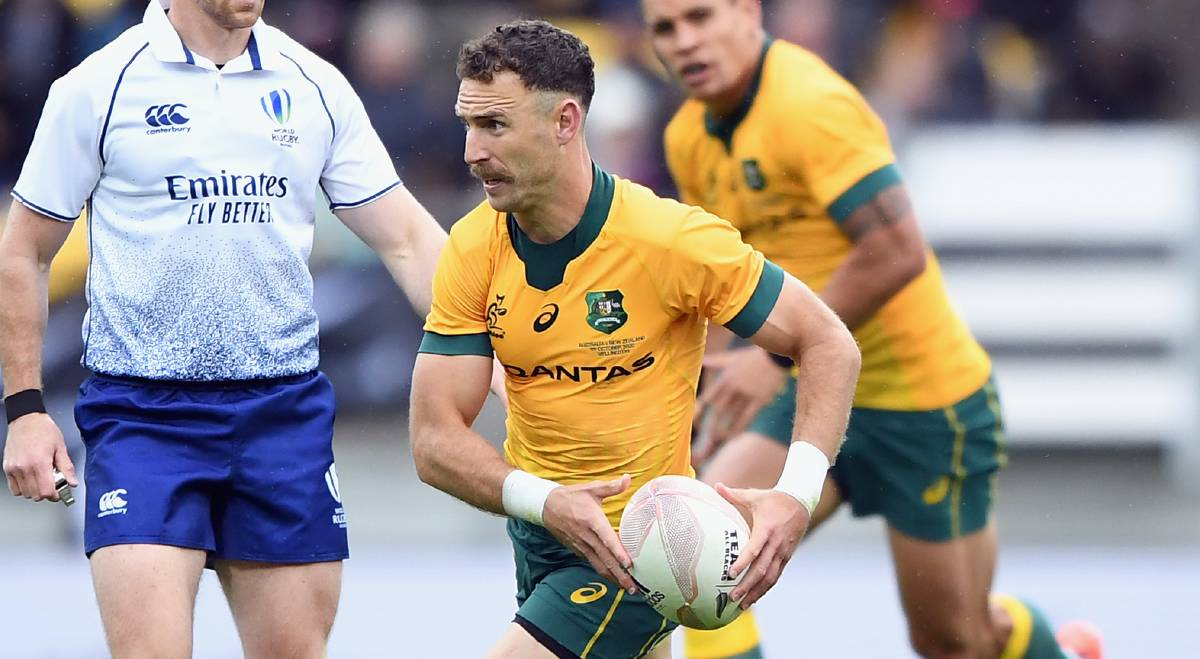 Nic White says the Wallabies have plenty of room for growth as they brace for an All Blacks reaction. Picture: Getty