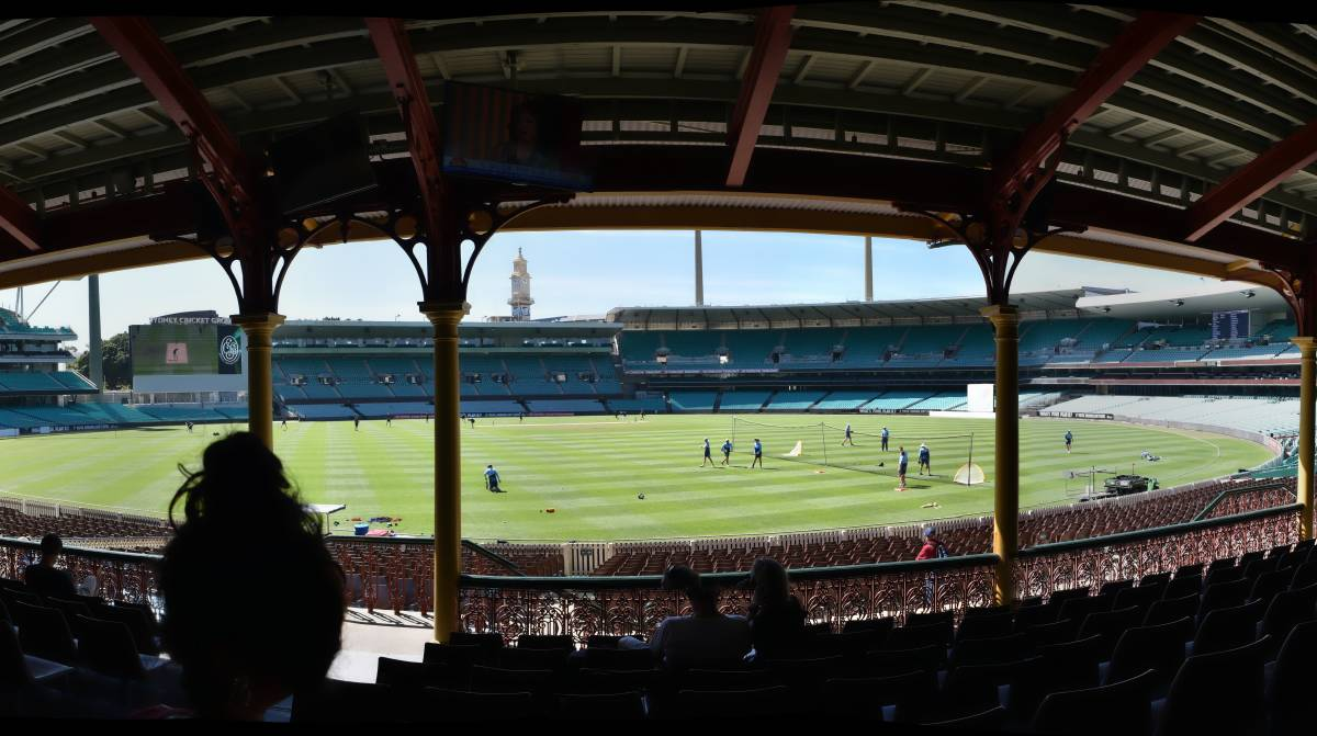 The crowd at the SCG has been restricted to 25 per cent and they must wear masks. But why are people there at all? Picture: Shutterstock
