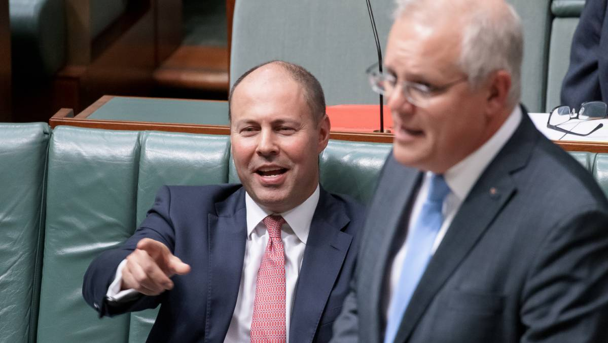More money for the boys? What will Josh Frydenberg deliver in this year's federal budget? Picture: Sitthixay Ditthavong
