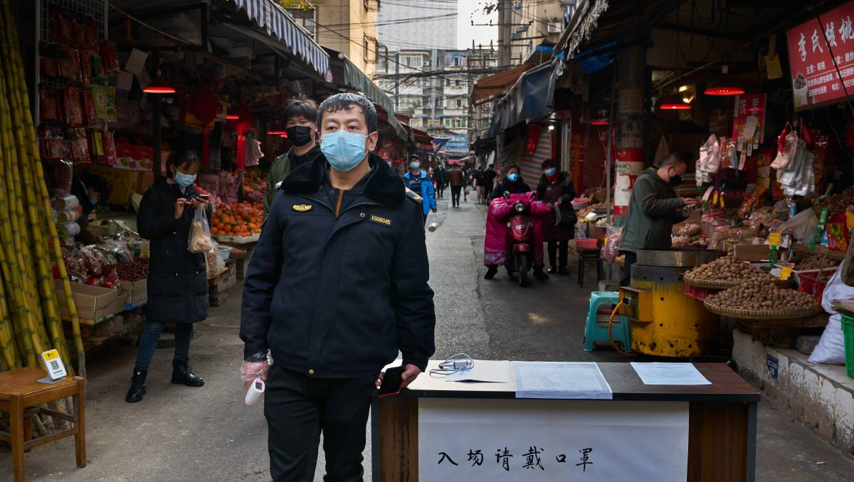 There are many who believe the coronavirus originated in a Chinese wet market. Picture: Shutterstock