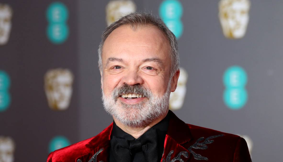 Author and comedian Graham Norton. Picture: Getty Images