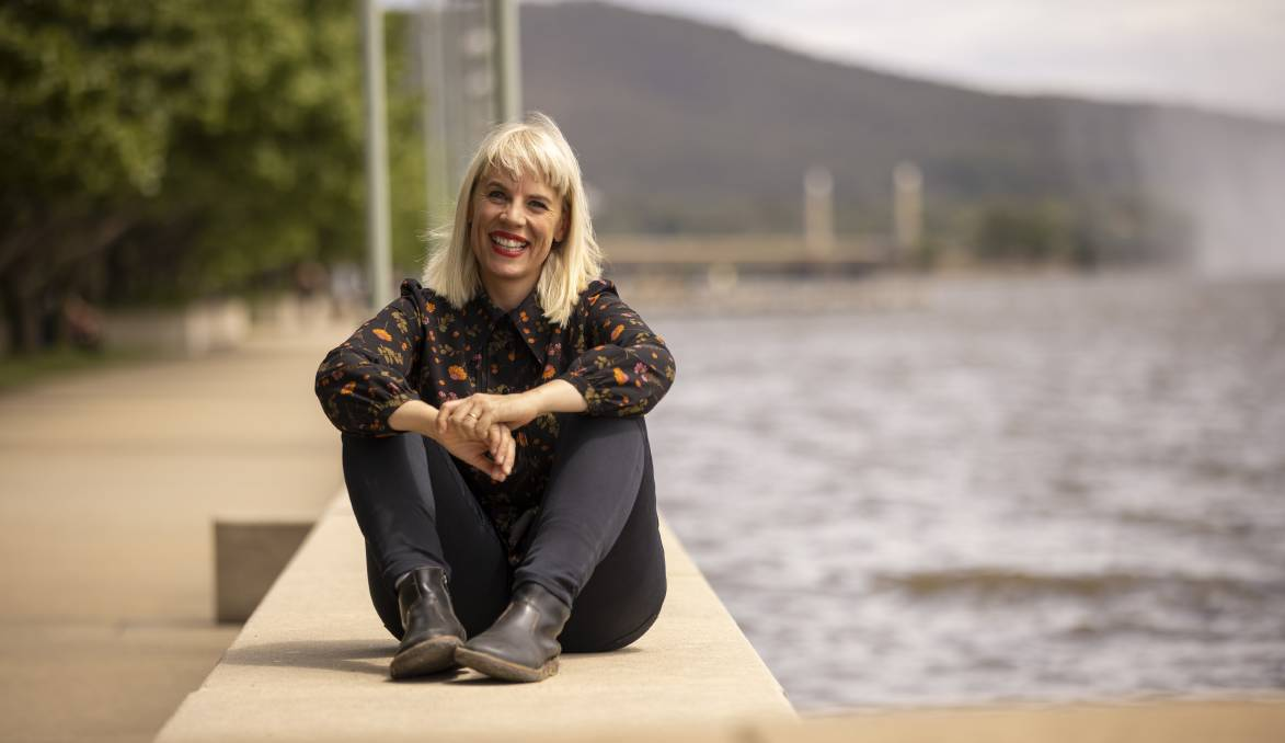 Canberra musician Jess Green, aka Pheno, will perform a specially commissioned song for the launch of Skywhalepapa. Picture: Keegan Carroll