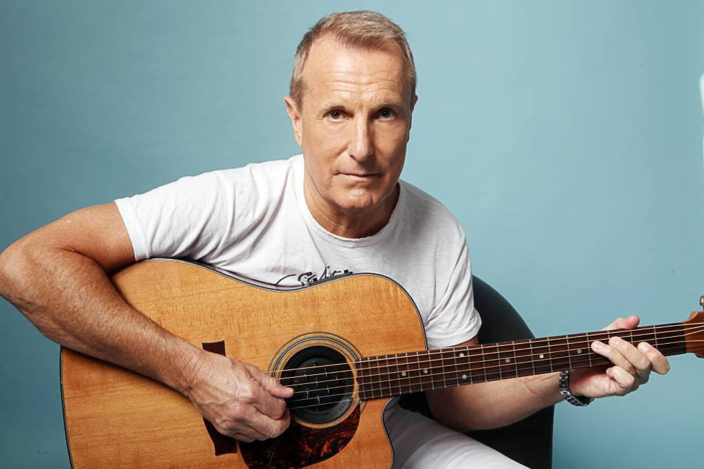 STILL CRAWLING: James Reyne has plenty to express on his 12th studio album Toon Town Lullaby. Picture: Jason McCormack