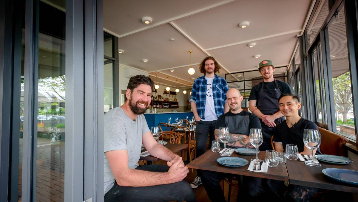 canberratimes.com.au - Karen Hardy - First look at Louis Couttoupe's new bistro and wine bar