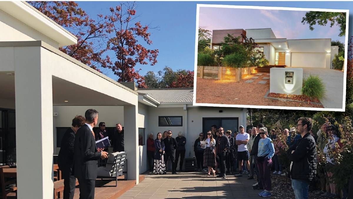 Hackett home sells for $2 million breaking suburb record – The Canberra Times