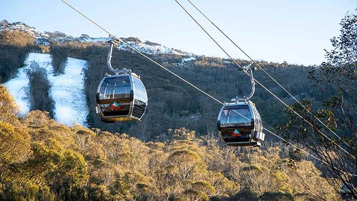 Thredbos new gondola, one of several key developments. Picture: Supplied