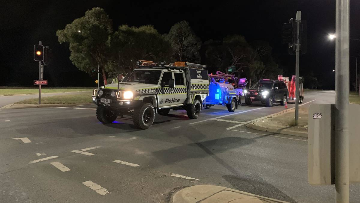 Monaro Highway southbound near Hume will be closed for many hours after a fatal collision – The Canberra Times