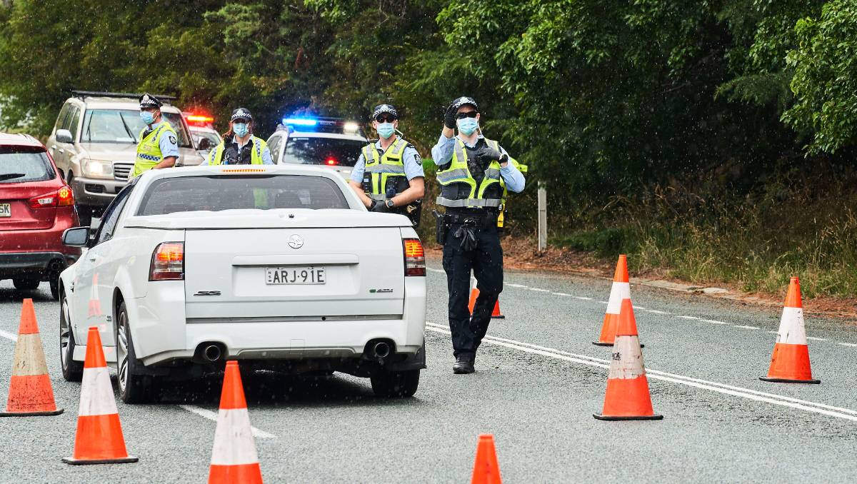 Pressure is mounting on ACT police resources required to maintain COVID border checkpoints – The Canberra Times