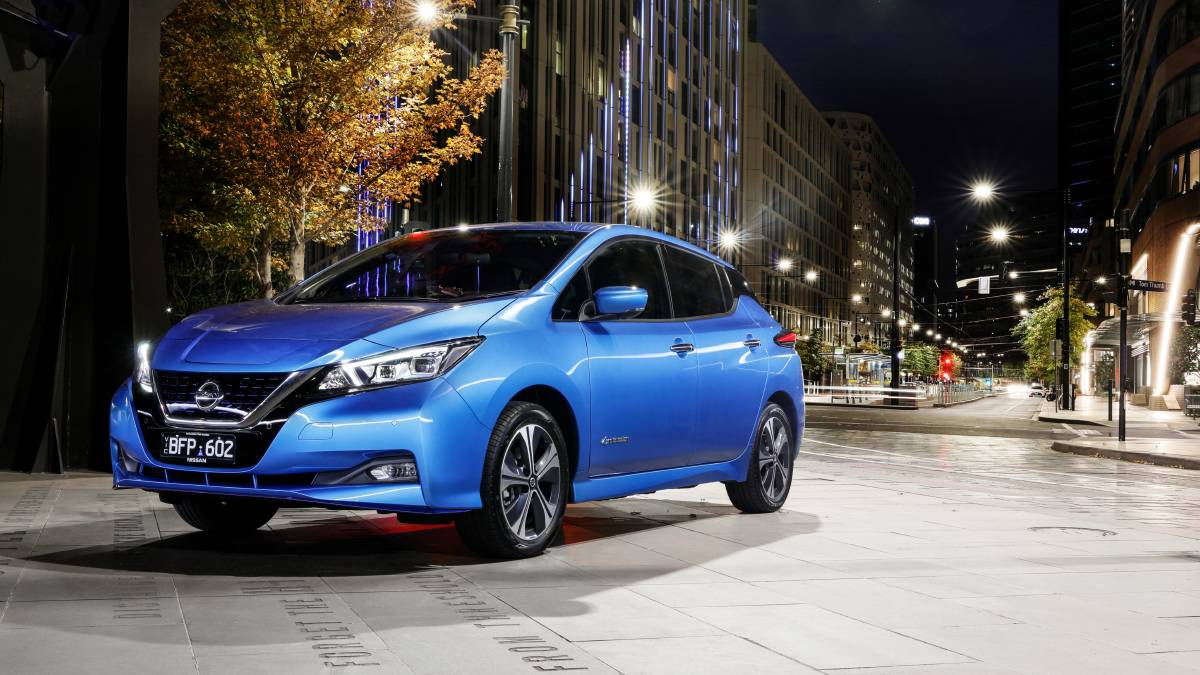 The Nissan Leaf EV has been in production for 10 years. Picture: Supplied