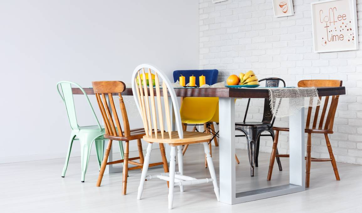 Start looking at your old furniture and items around the house with a fresh perspective. Photo: Shutterstock