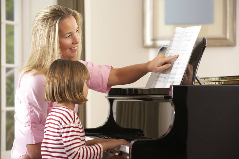 PRACTICE MAKES PERFECT: Children need to put in the time to ensure they get the full benefit of their music lessons. Photo: Shutterstock.
