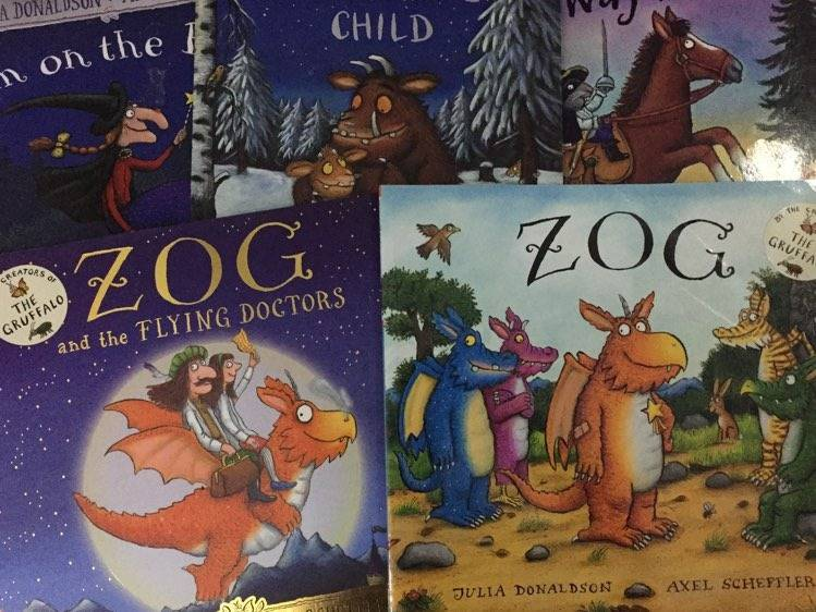 Julia Donaldson reimagines some of her favourite books for coronavirus pandemic