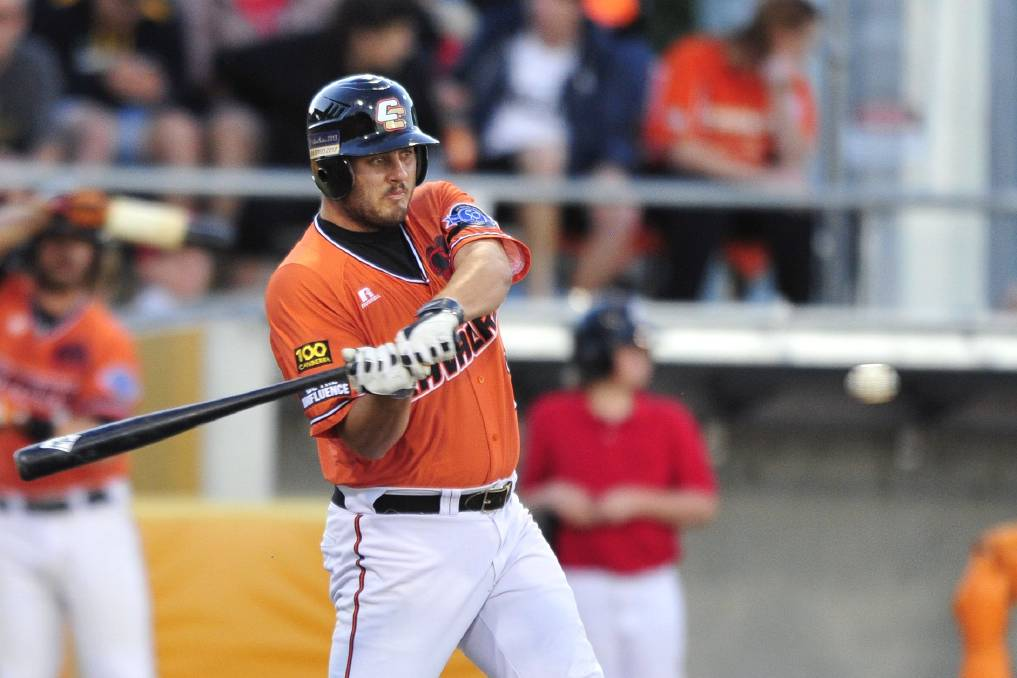 Former Canberra Cavalry infielder Aaron Sloan, who fronted court on Thursday charged with stalking. Picture: Jeffrey Chan