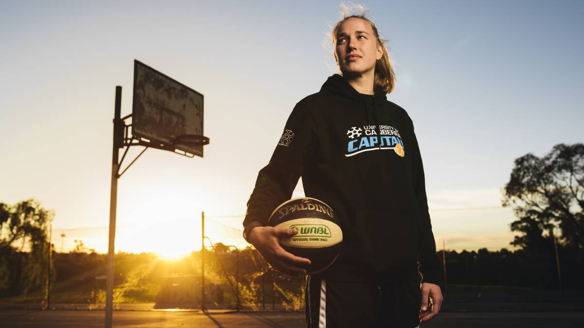 Mikaela Ruef is determined to make the most of her chance. Picture: Rohan Thomson