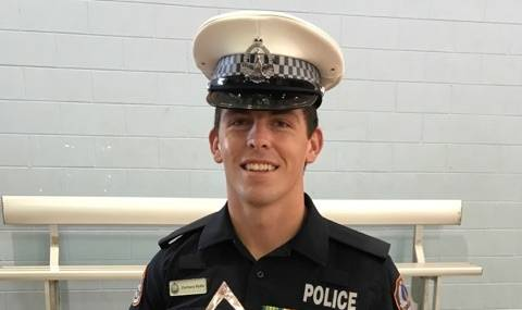 Northern Territory police constable Zachary Rolfe. Picture: Supplied