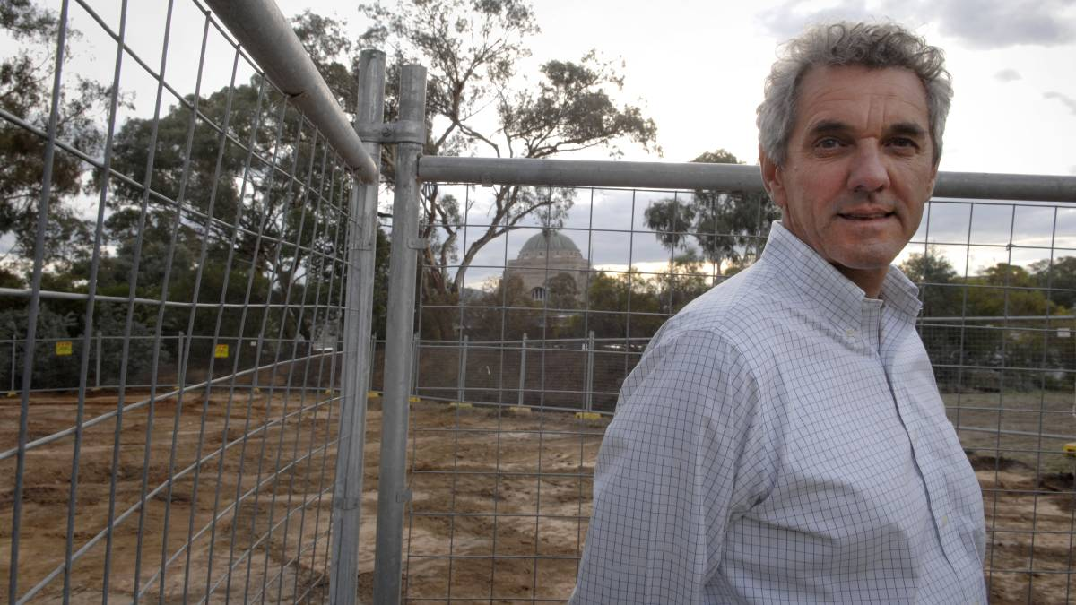 Stewart Mitchell, the former head of buildings and services at the AWM and pictured here in 2009, is critical of the $500 million redevelopment. Picture: Vikky Wilkes