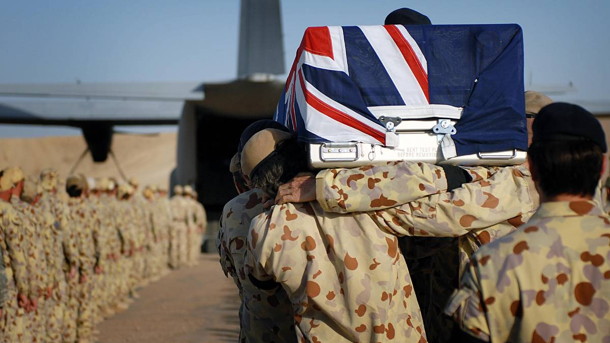 Australian soldiers serving in Afghanistan risked being killed on a daily basis and many were traumatised by their experiences. Picture: Defence Media