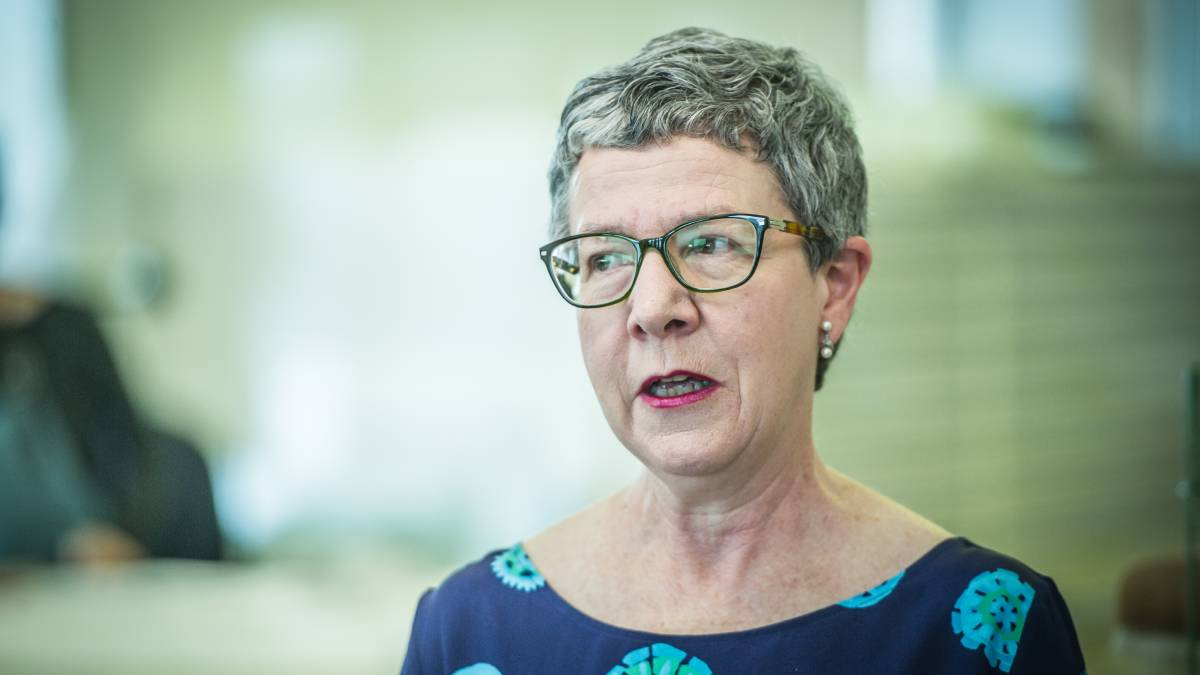 National Library of Australia director-general Dr Marie-Louise Ayres echoed comments made by ALIA chief executive Sue McKerracher. Picture: Karleen Minney