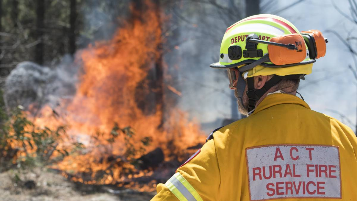 A record number of people expressed interest in joining the ACT Rural Fire Service in 2020. Picture: Elesa Kurtz