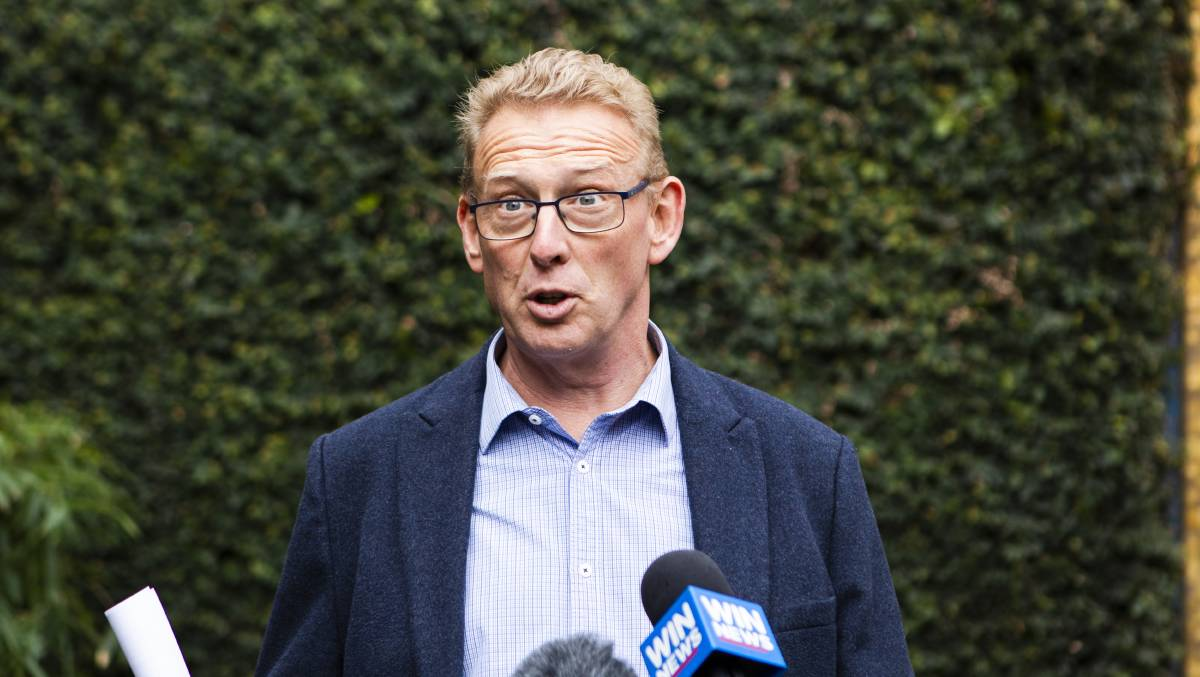 ACT opposition transport spokesman Mark Parton. Picture: Jamila Toderas