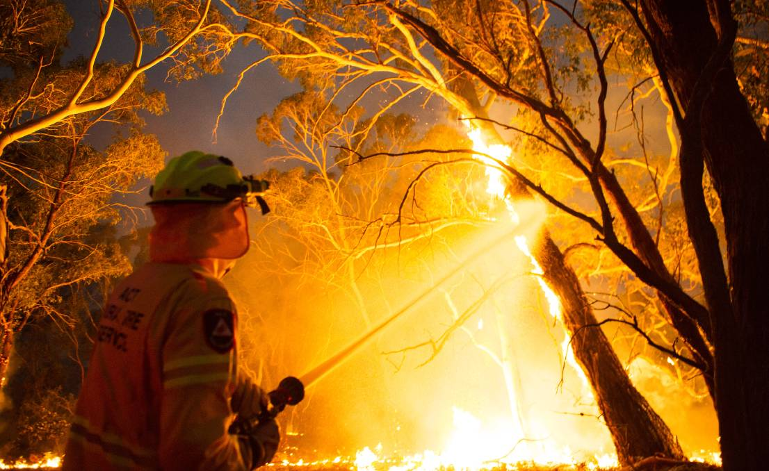 The bushfire royal commission is considering calling for a permanent system of pay for volunteers. Picture: Dion Georgopoulos