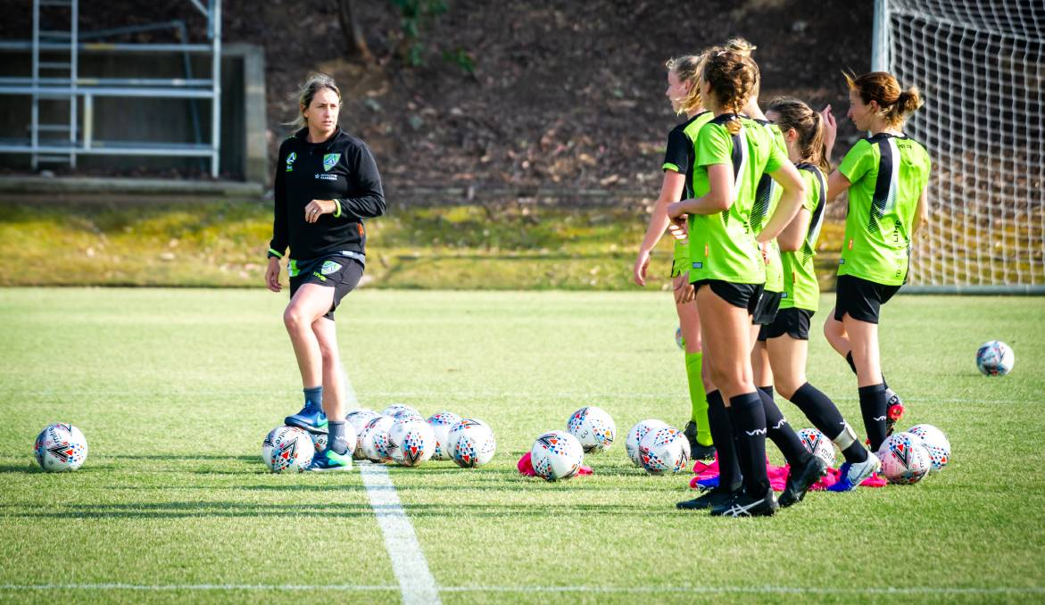 Canberra United has delayed its hunt for a new coach with the upcoming season shrouded in doubt. Picture: Karleen Minney