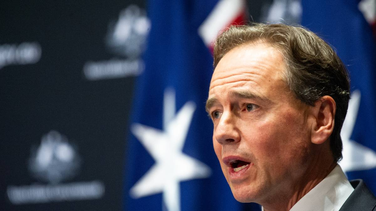 Health Minister Greg Hunt said the latest ACT coronavirus case would be reviewed by an expert medical panel. Picture: Elesa Kurtz