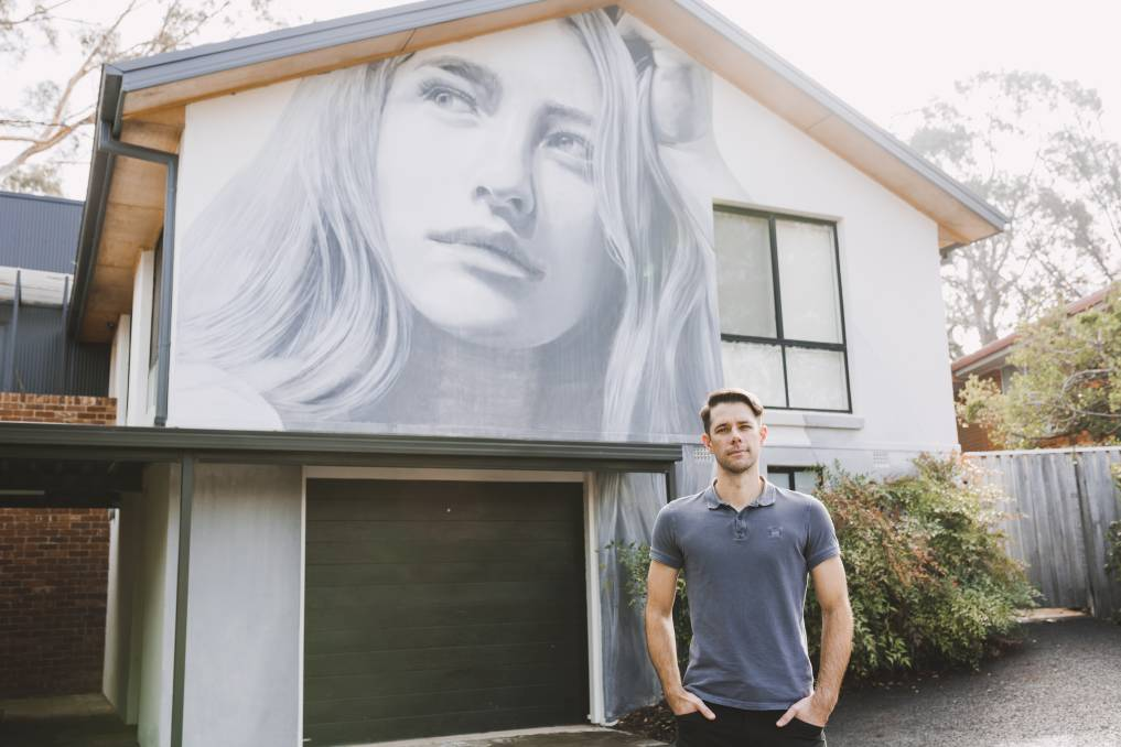 The Story Behind Some Of Canberra S Most Dramatic Private Murals The Canberra Times Canberra Act