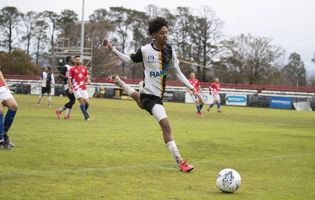 Gungahlin United and Samuel Habtemariam will return to Deakin Stadium this weekend. Picture: Sitthixay Ditthavong