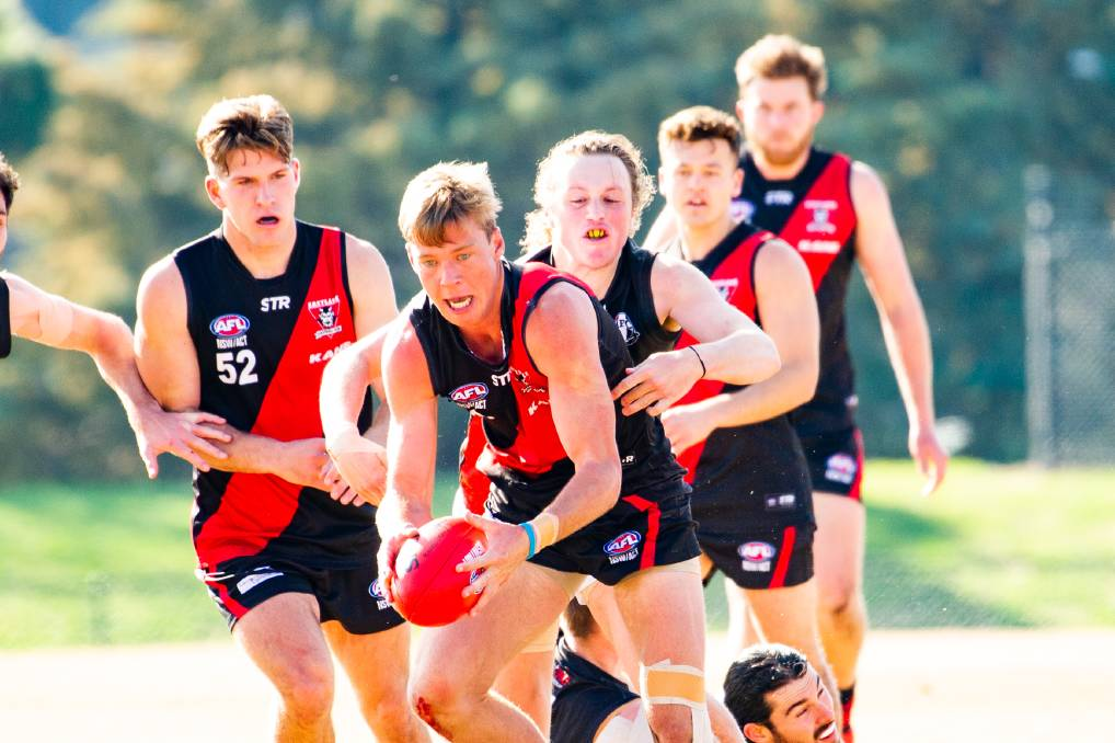 Angus Baker shone for Eastlake in their big win over Ainslie. Picture: Elesa Kurtz