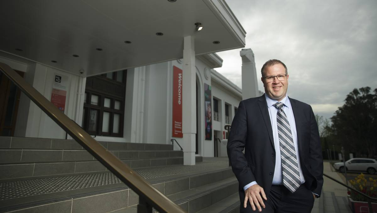 Assistant minister for the public service Ben Morton at Old Parliament House in November. Picture: Sitthixay Ditthavong