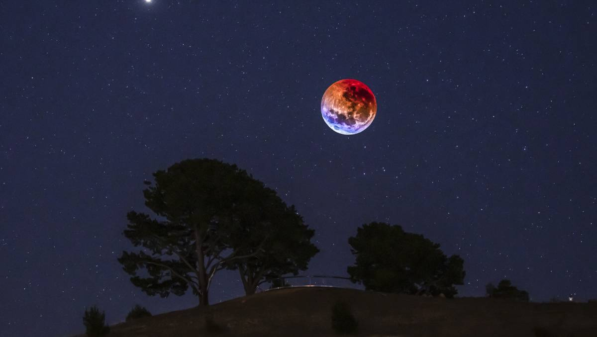 Super Blood Moon photography tips: an expert's guide – The Canberra Times