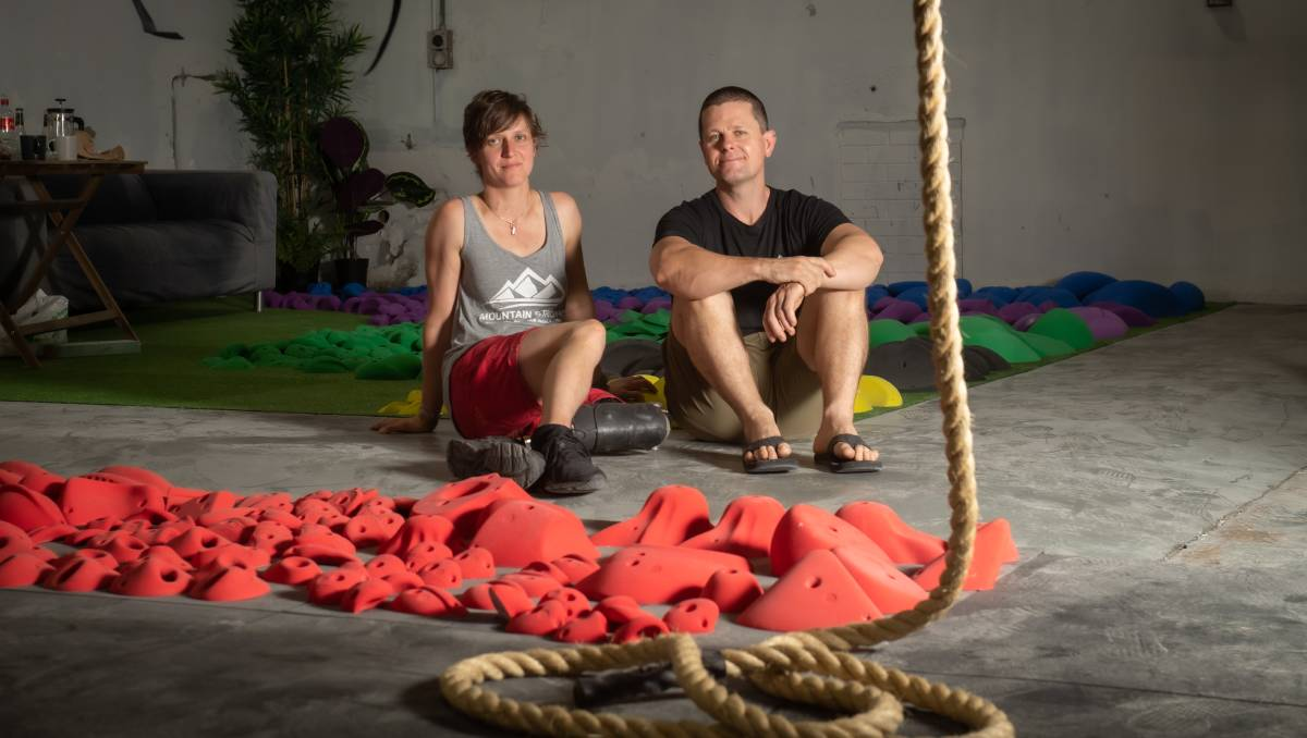 Climbing's Australian ascent - the rise and rise of indoor bouldering