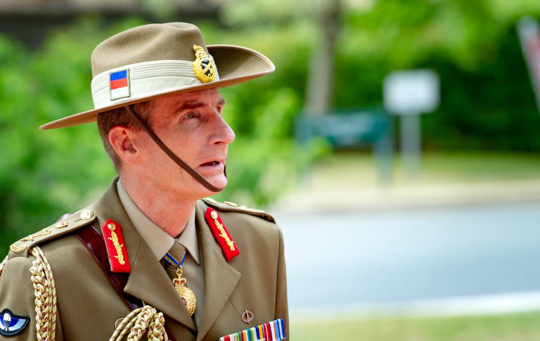 General Angus Campbell will release the war crimes response plan early in 2021. Picture: Elesa Kurtz