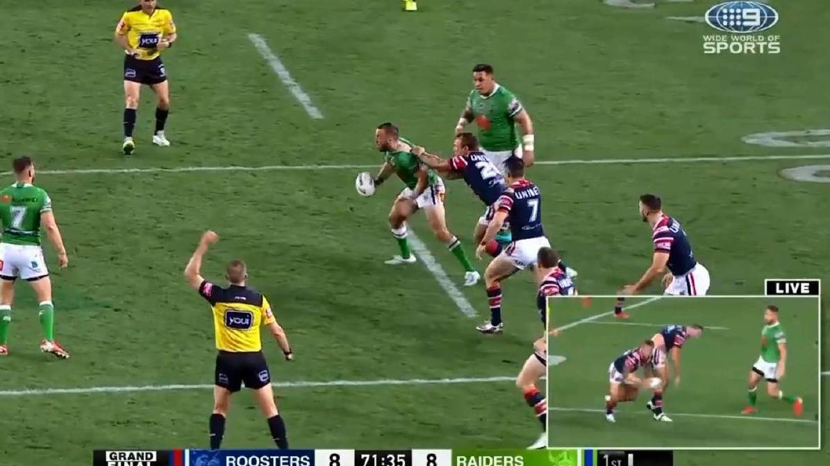 The NRL will have just one referee on the field this year.