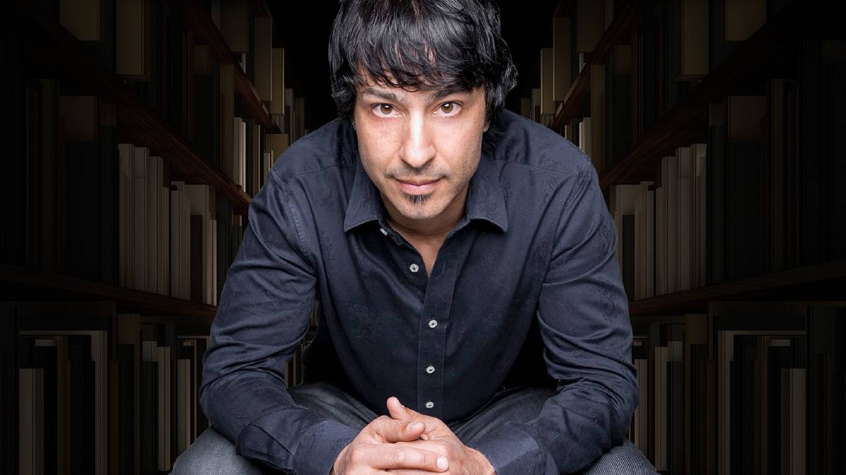 Arj Barker wants to talk.