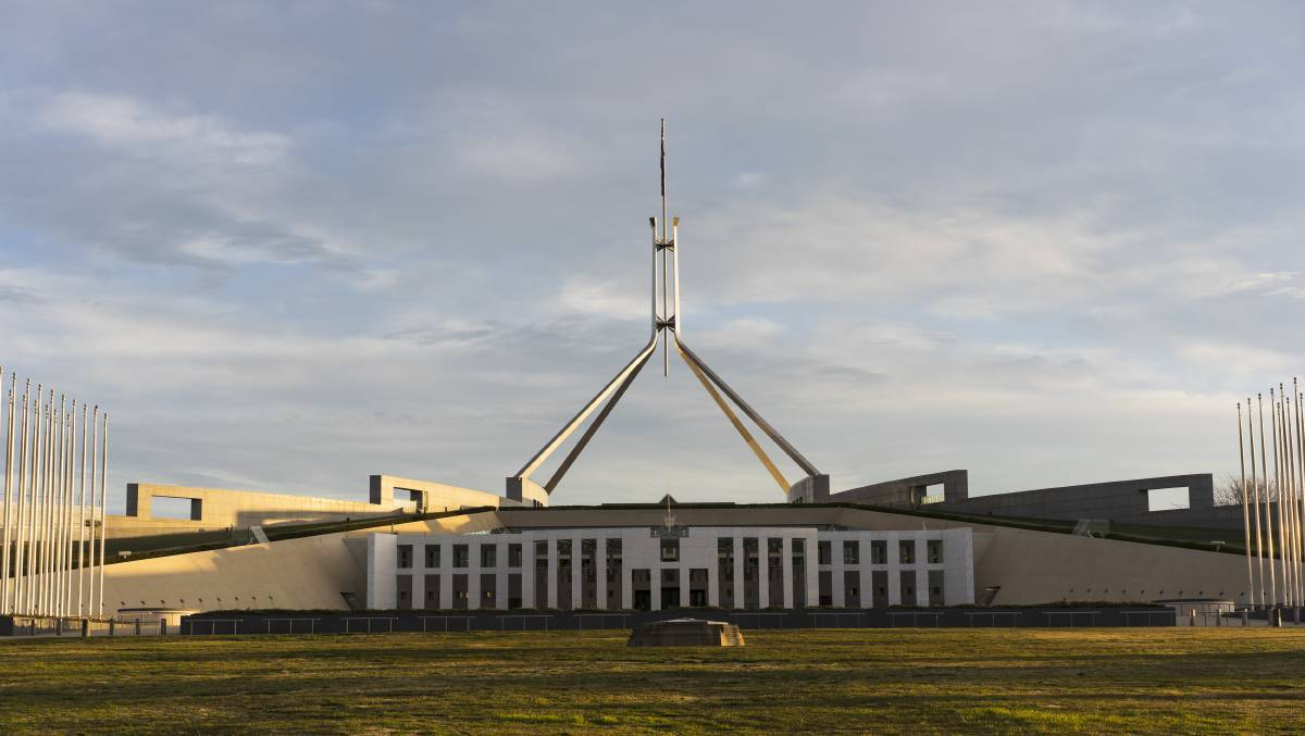 Parliament House. Picture: Dion Georgopoulos