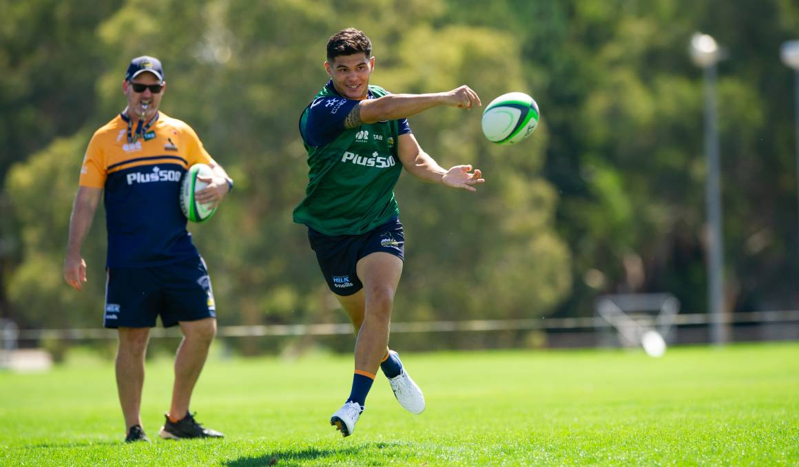 The Brumbies are working to make their attack even more clinical against the Waratahs. Picture: Keegan Carroll