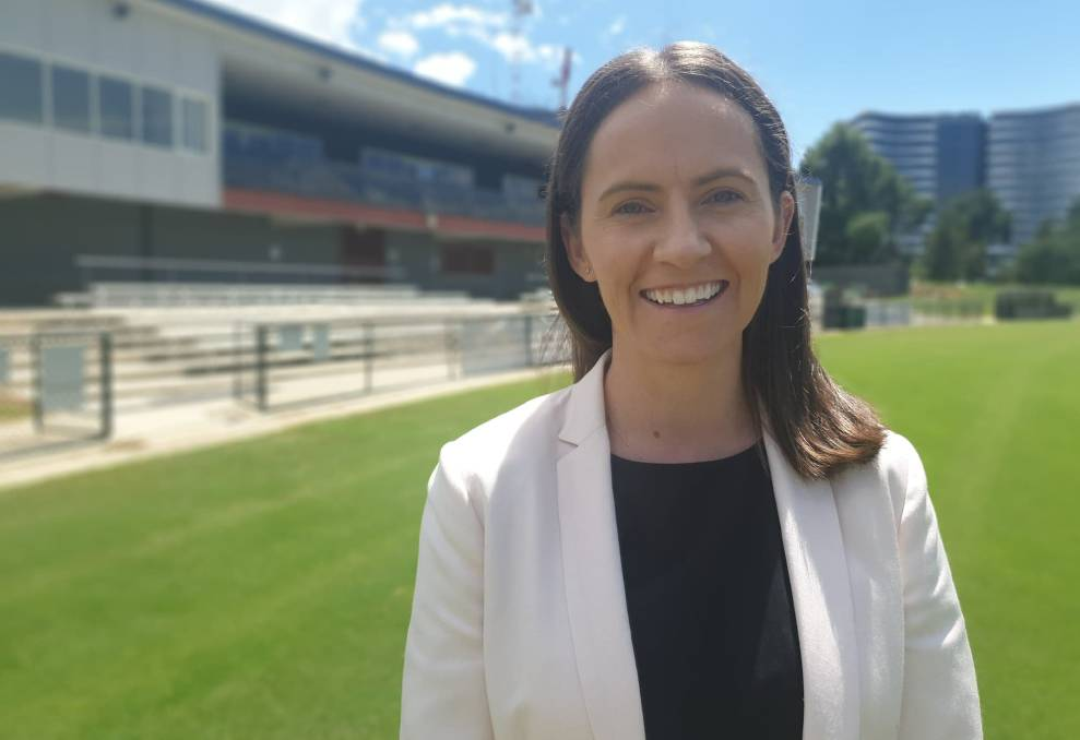 New Cricket ACT chief executive Olivia Thornton. Picture: Supplied