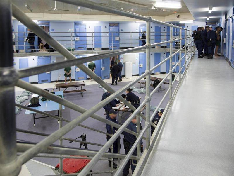 Some prisoners in NSW jails have been placed in isolation after developing coronavirus symptoms.