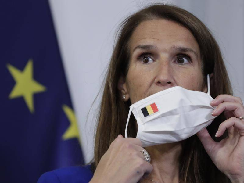 Belgian Foreign Minister Sophie Wilmes is being treated for the coronavirus.