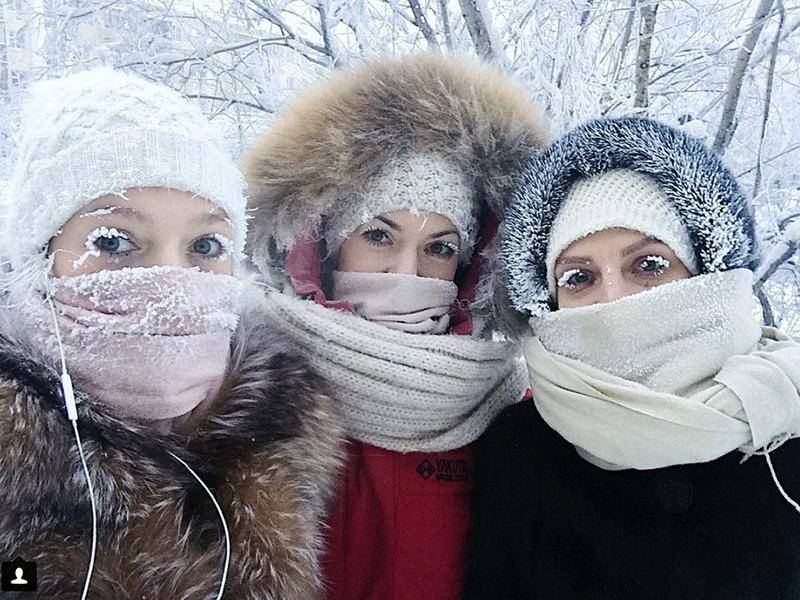 Yakutsk, located in Russia's eastern Siberia, is said to be the coldest large city on earth.