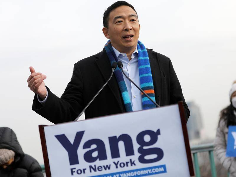 Ex-Democratic presidential candidate Andrew Yang is running for the mayor of New York City.